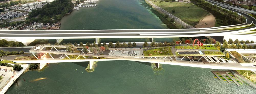 Les automobilistes ne trouveront rien à redire pas car la traversée continuera d'être assurée via un nouvel ouvrage qui sera édifié parallèlement au « Bridge Park »
